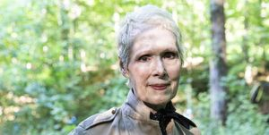 WARWICK, NEW YORK - JUNE 21, 2019: E. Jean Carroll at her home
