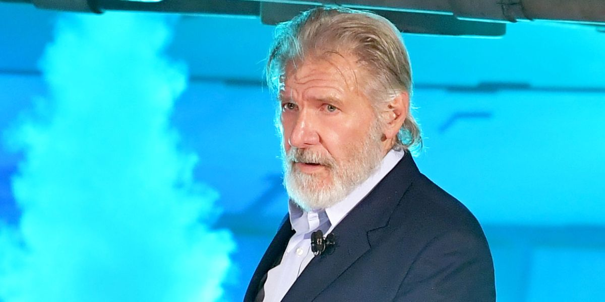 Harrison Ford Has a Beard Now and it's Glorious