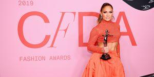 Jennifer Lopez CFDA Awards 2019