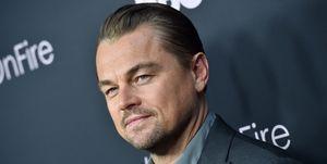 Leonardo DiCaprio Ice On Fire