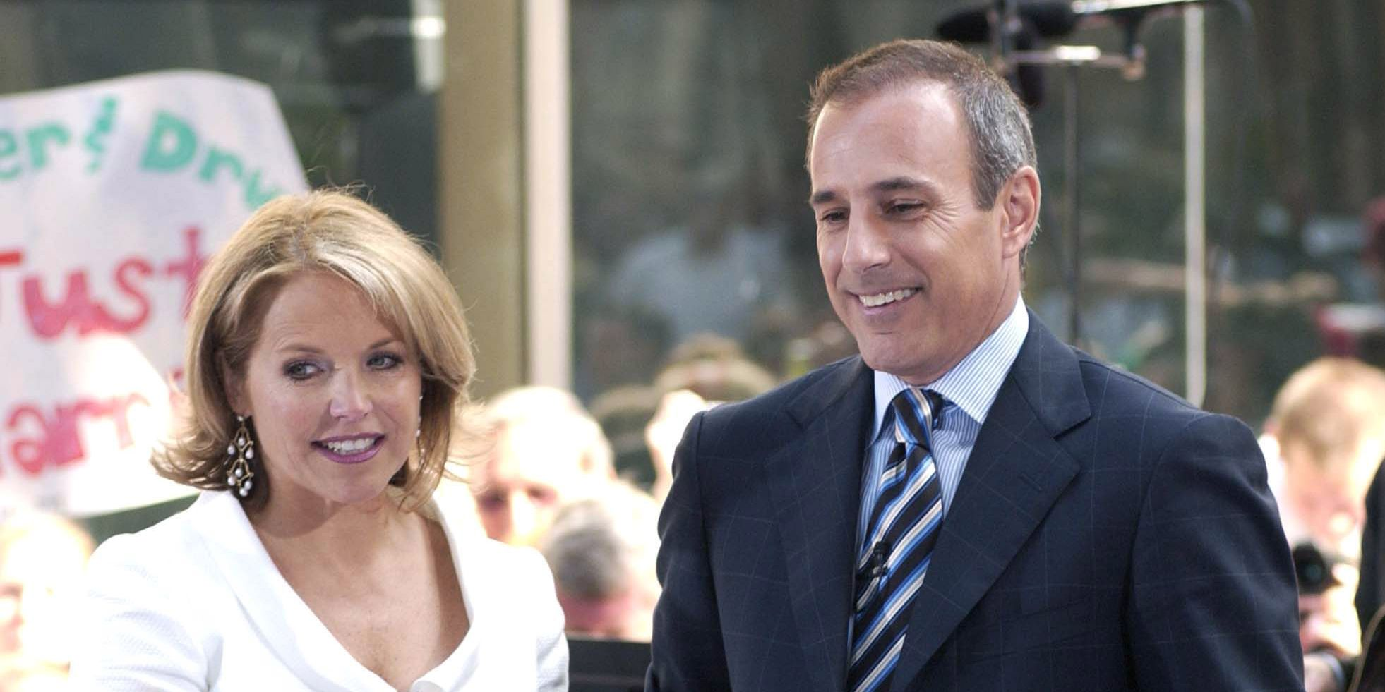 Katie Couric Broke Her Silence About Matt Lauer's Sexual Misconduct Allegations