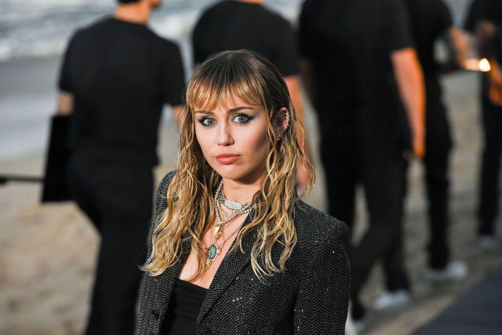 Miley Cyrus Cut Her Hair Even Shorter Into A Shaggy Pixie Crop Mullet