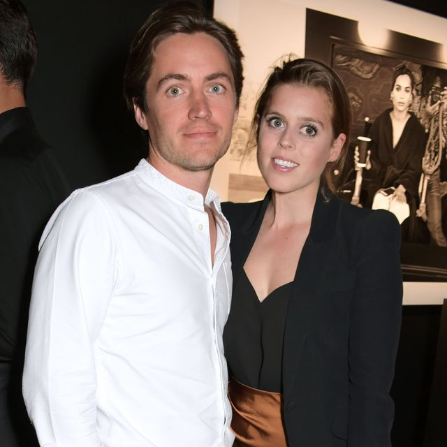 london, england    july 10   edoardo mapelli mozzi and princess beatrice of york attend the lenny kravitz  dom perignon assemblage exhibition, the launch of lenny kravitz uk photography exhibition, on july 10, 2019 in london, england photo by david m benettdave benettgetty images for dom perignon