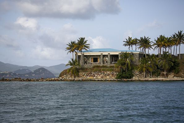 jeffrey epstein's private island in the caribbean