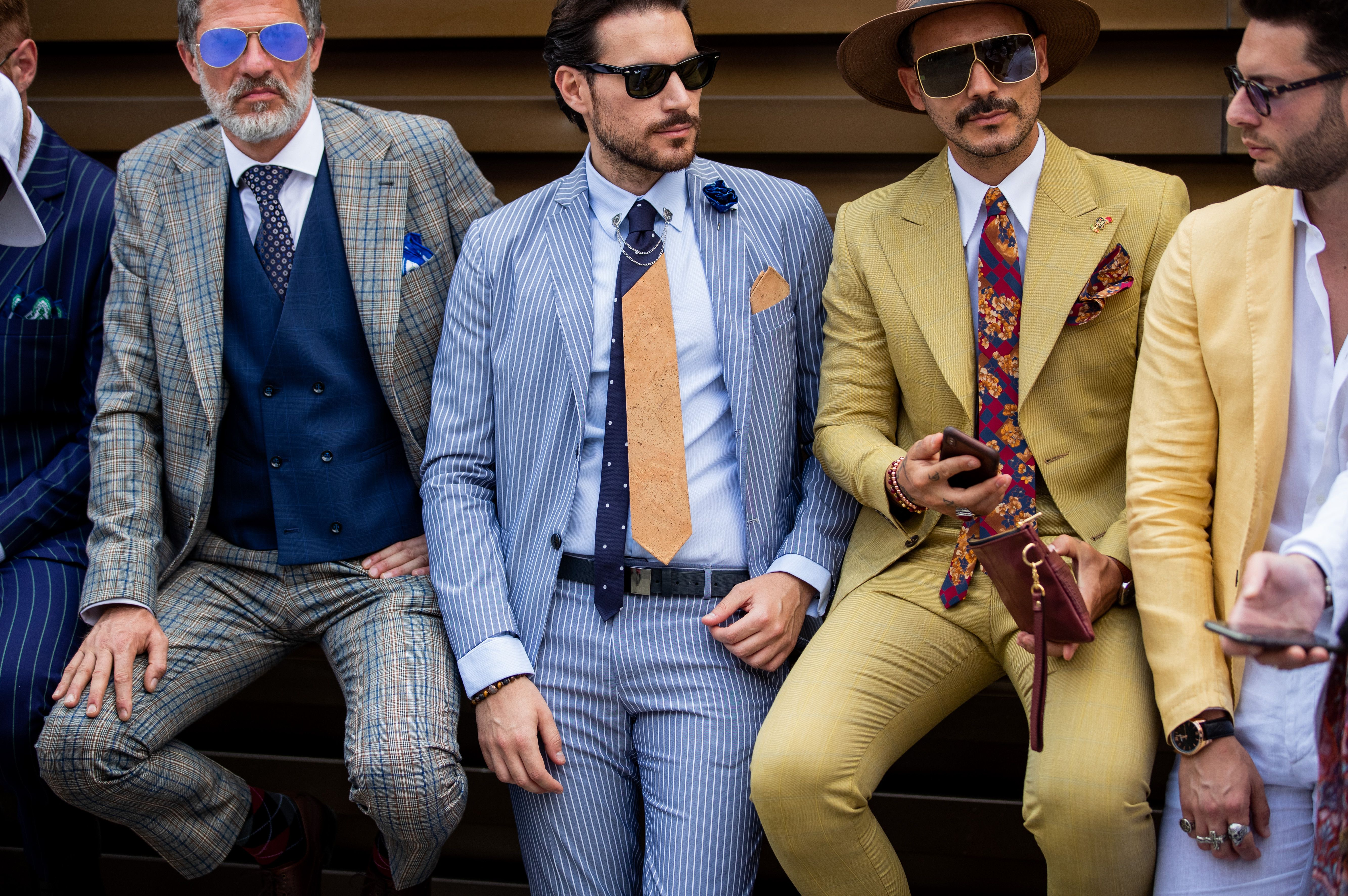 All The Best Street Style From Pitti Uomo
