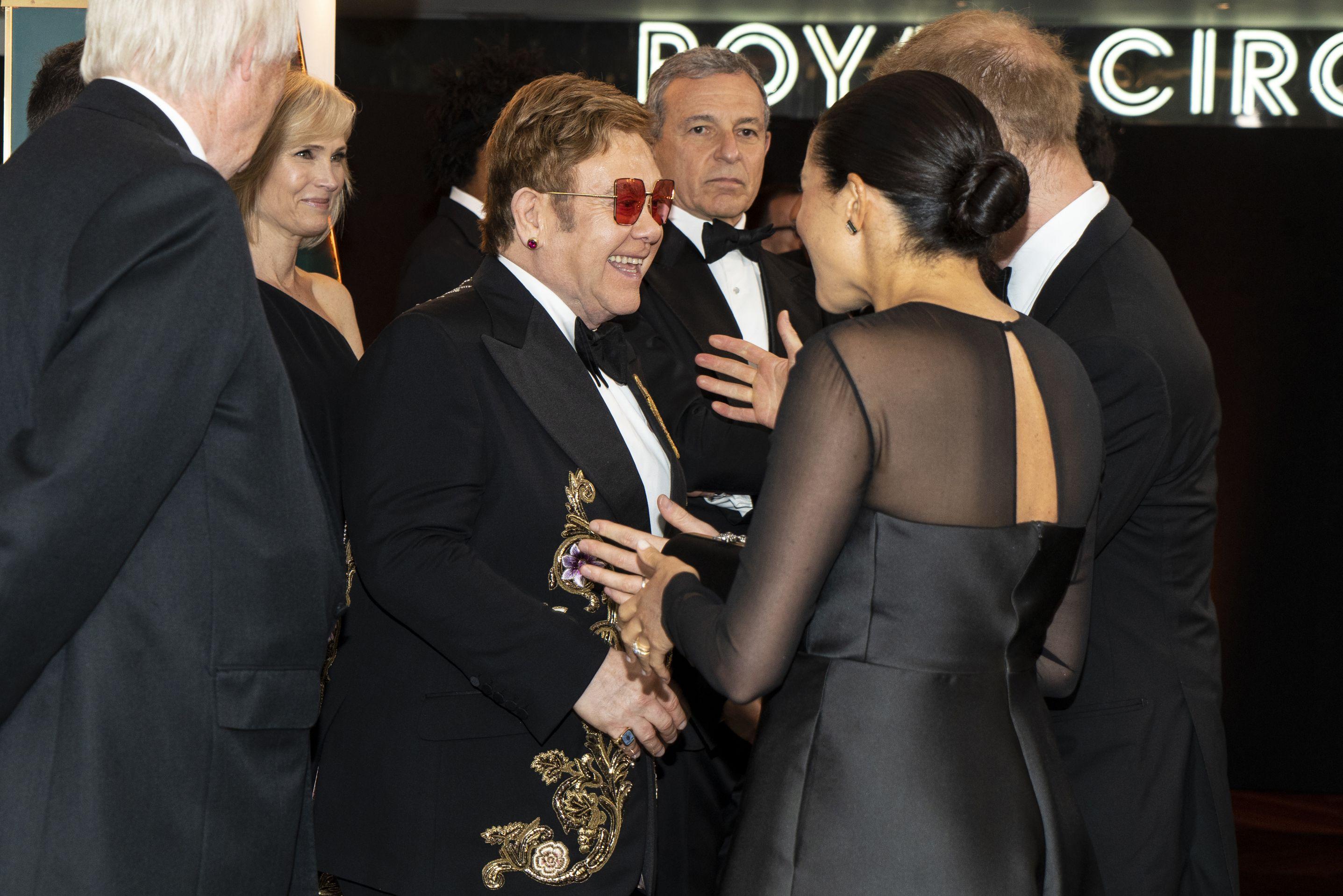 Elton John and Ellen DeGeneres Defended Meghan Markle and Prince Harry After Yet More Online Attacks