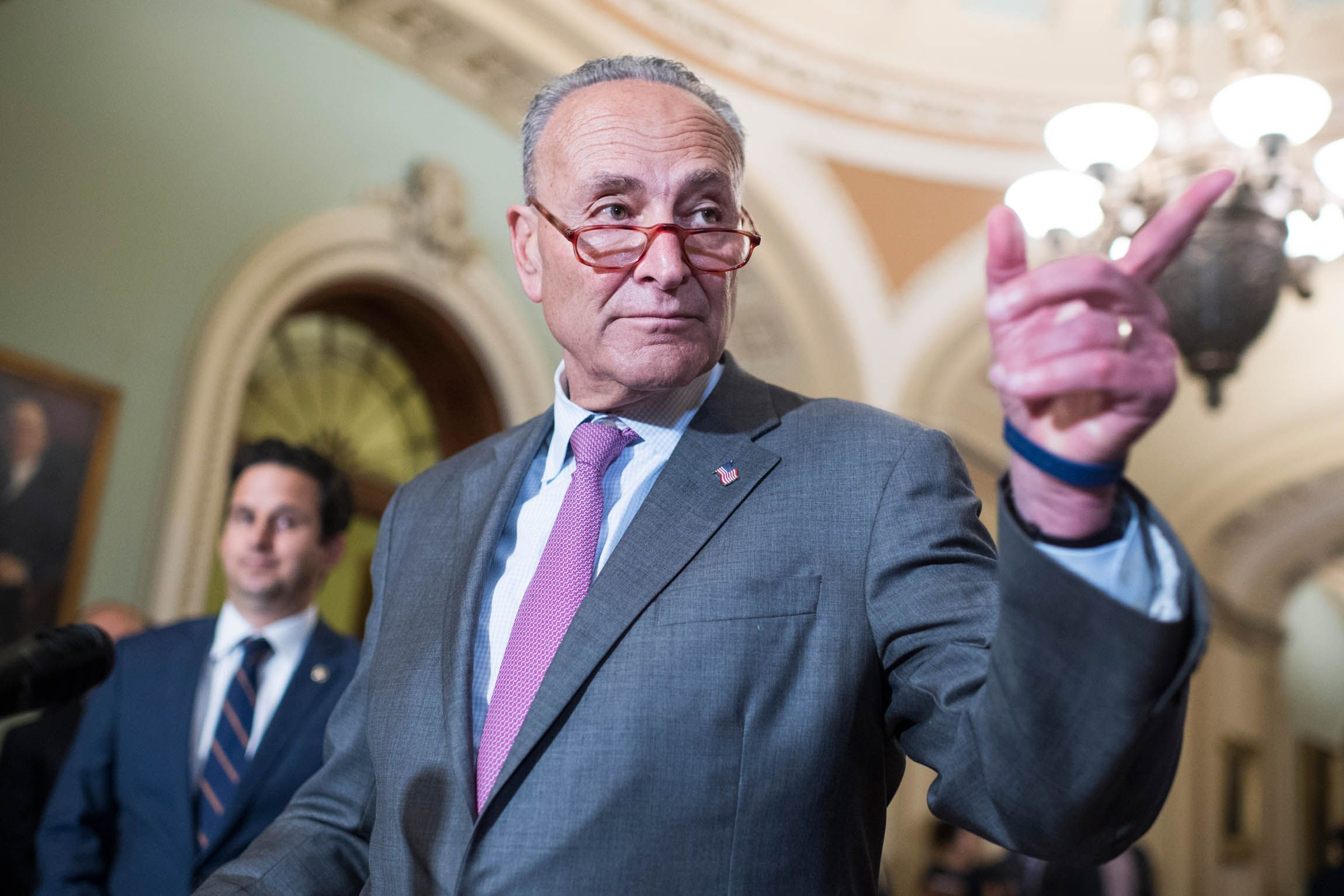 Chuck Schumer Is Not a Wartime Consigliere
