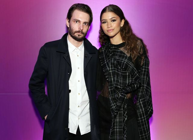 new york, new york   june 14 writerdirector sam levinson and actresssinger zendaya attend the new york screening of hbos euphoria on june 14, 2019 in new york city photo by monica schippergetty images for hbo