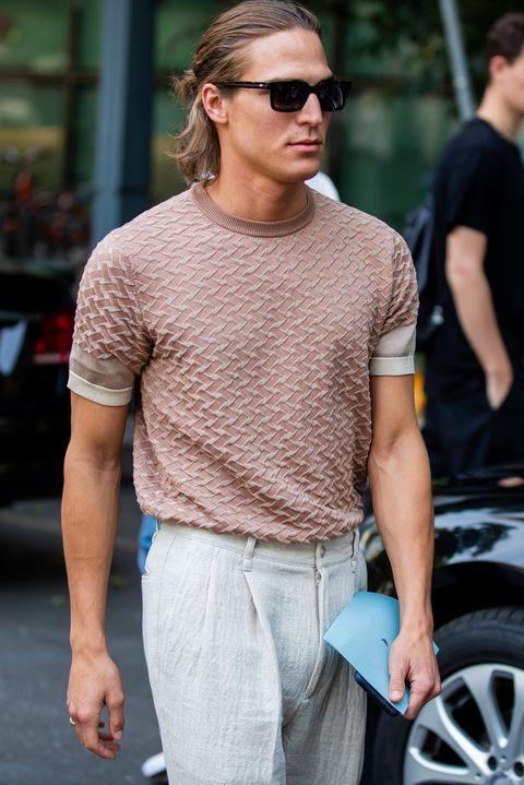 Street style de la semana de la moda para hombre de Milán