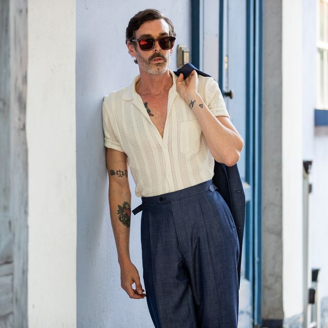 milan, italy   june 15 richard biedul is seen outside marni during the milan mens fashion week springsummer 2020 on june 15, 2019 in milan, italy photo by christian vieriggetty images