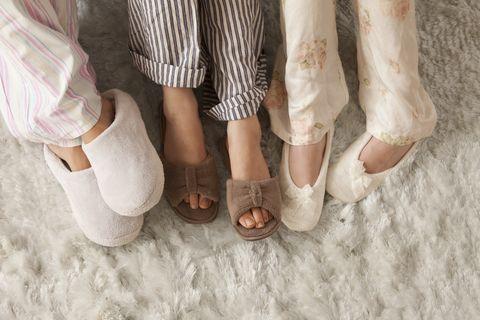 marks and spencer velvet slippers