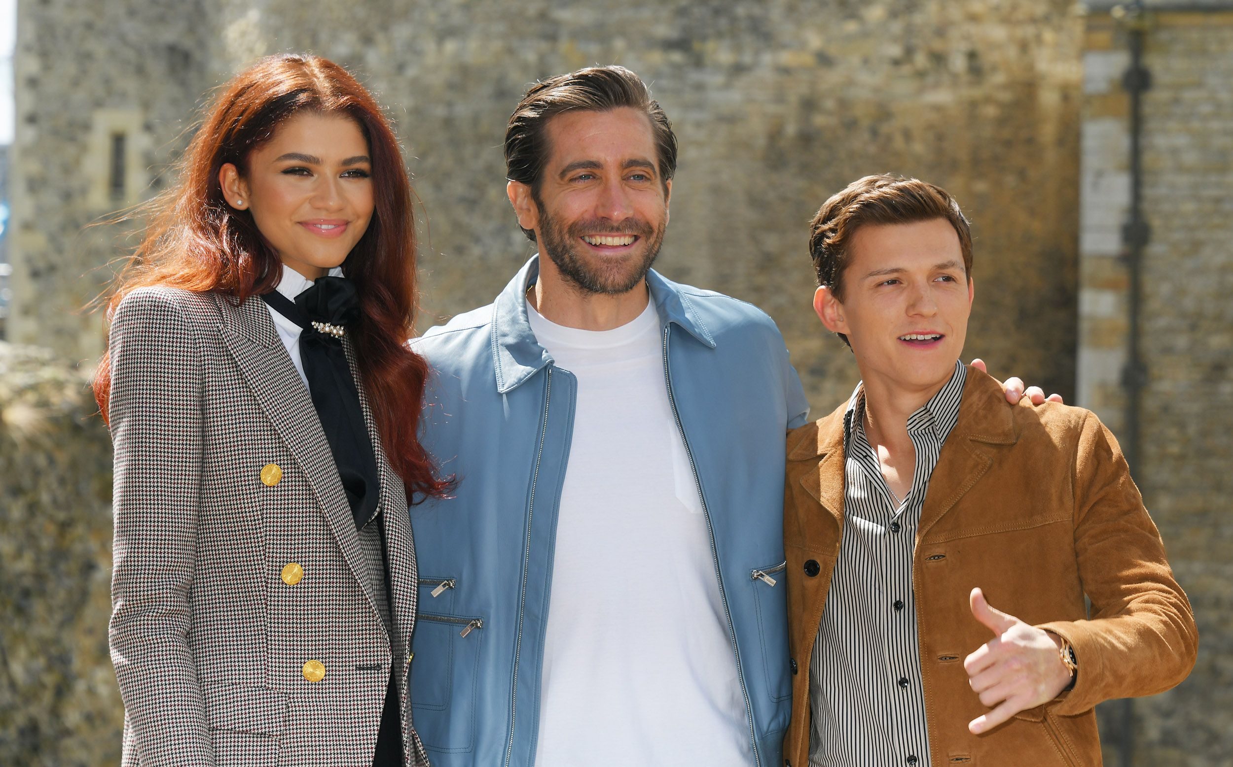 Jake Gyllenhaal And Tom Holland Just Rewrote The Summer Jacket Rule Book