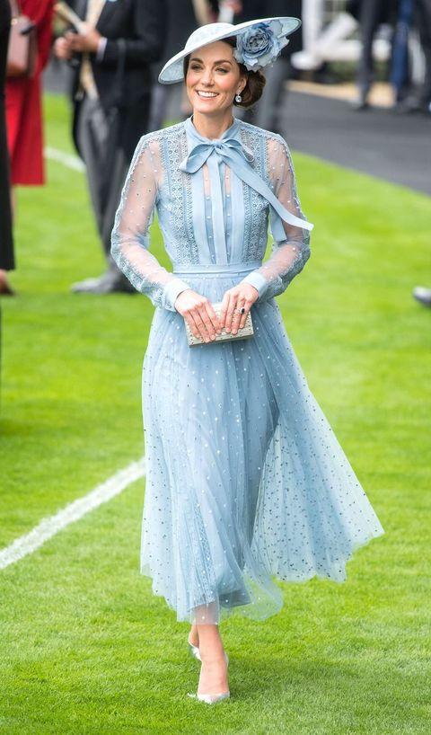 凱特王妃:出席皇家賽馬比賽