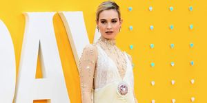 Lily James best dressed june 2019