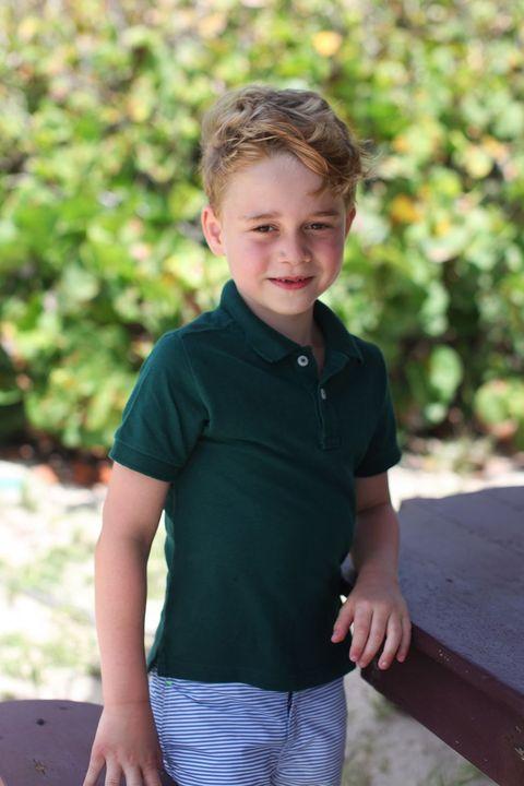 Prince George 6th Birthday Portrait
