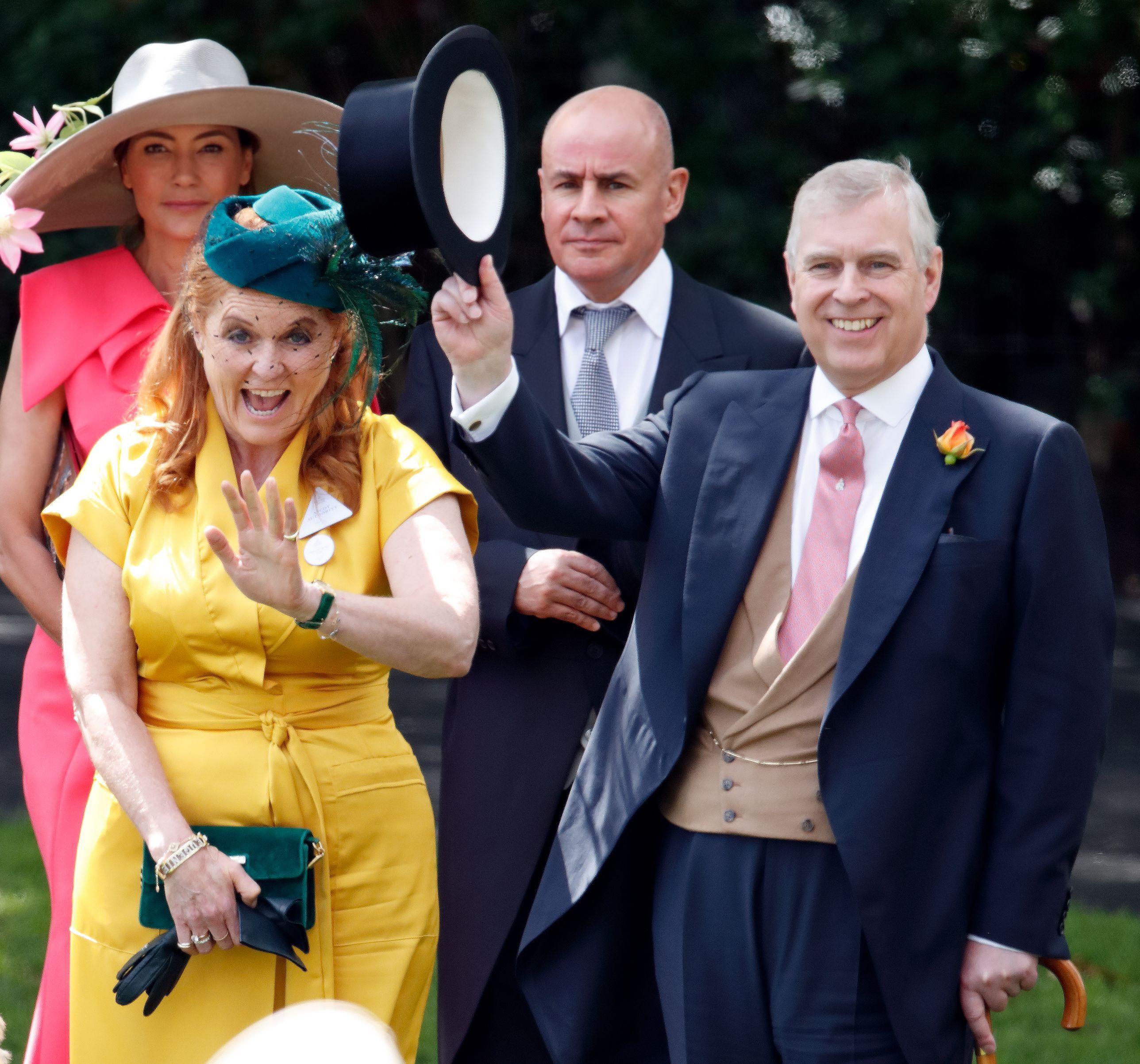 Prince Andrew Sarah Ferguson S Comments About Princess