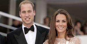 Kate Middleton And Prince William - Christmas Card