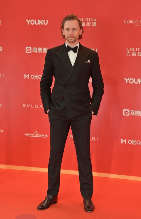 release date: classic factory price Tom Hiddleston Tuxedo Style