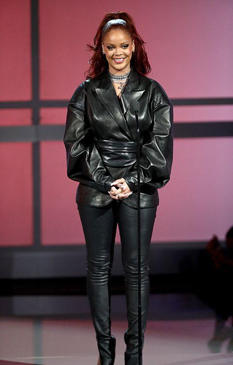 Fashion model, Fashion, Clothing, Fashion show, Runway, Leather, Jacket, Leather jacket, Textile, Model,