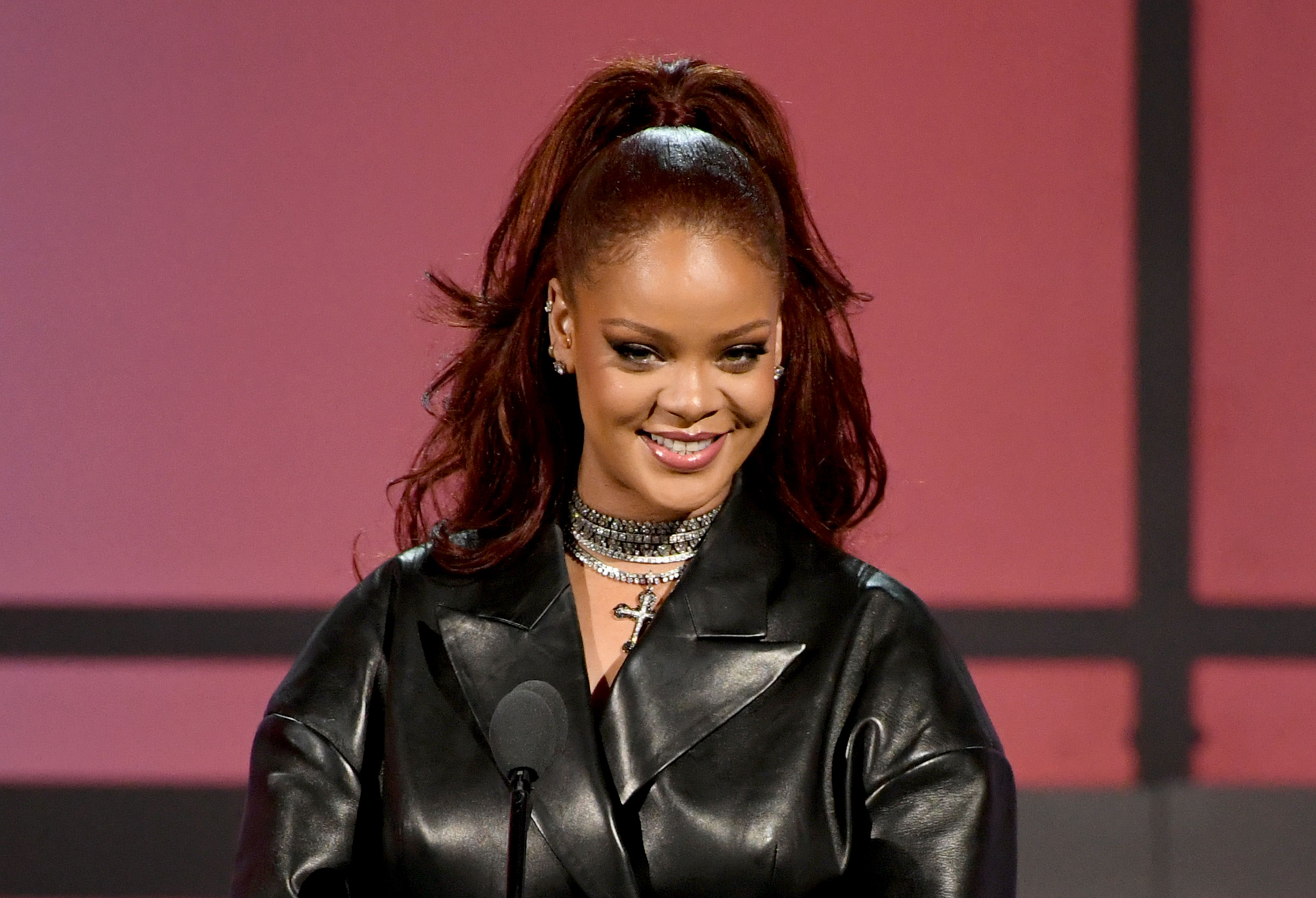Rihanna's Red Hair at the BET Awards Has Fans Speculating About New Music