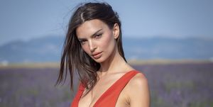 emily ratajkowski beauty routine