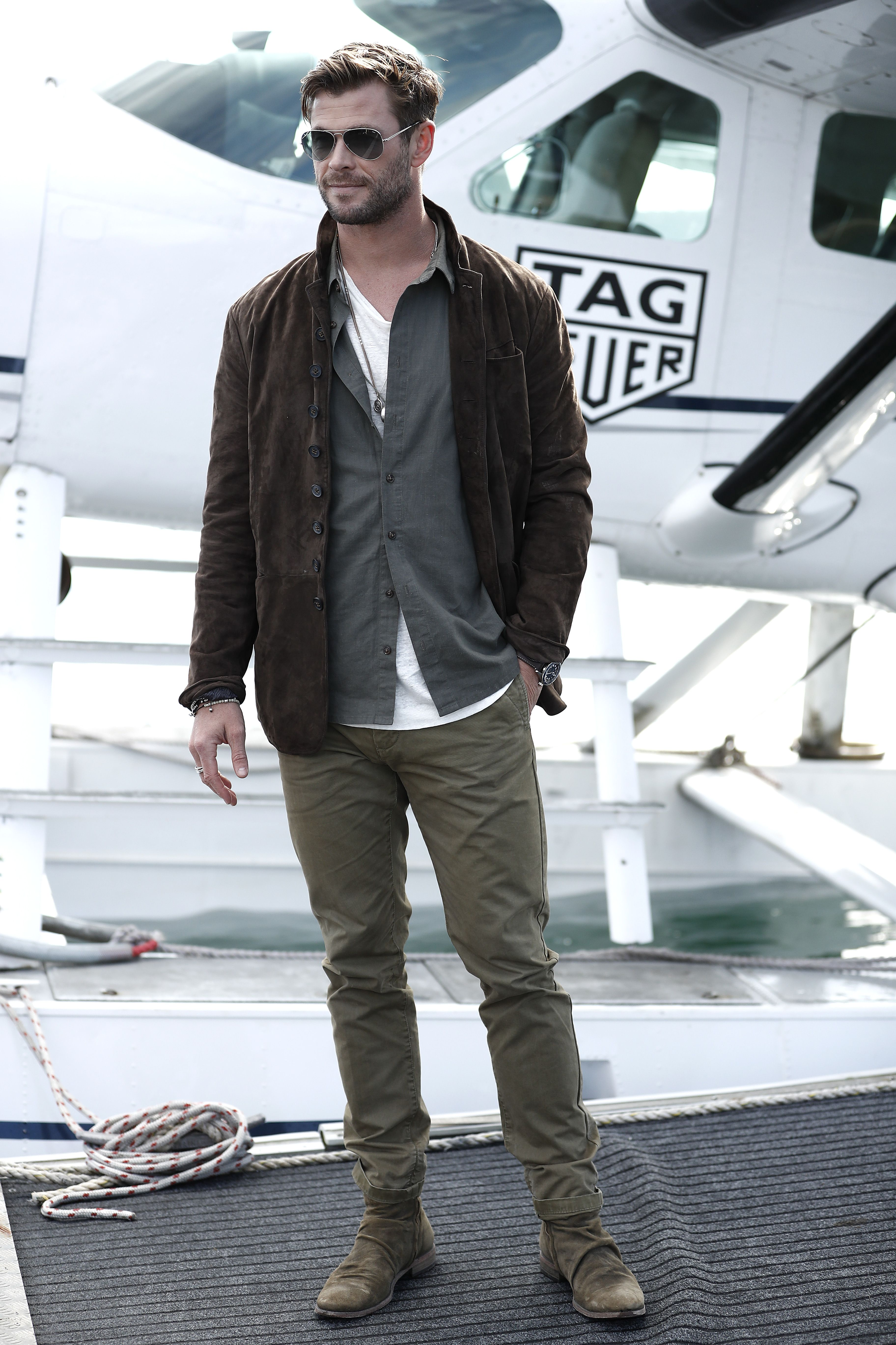 Chris Hemsworth And The Triple Layering Trick That Will Save Your Summer