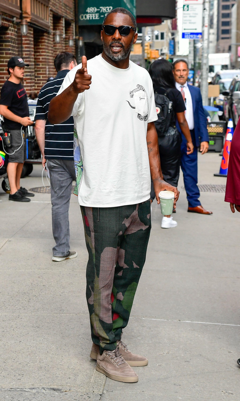 Idris Elba, Emperor Of Poolside Style