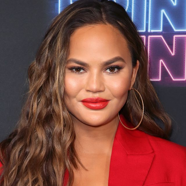 los angeles, california   june 26 chrissy teigen attends the premiere of nbcs bring the funny at rockwell table  stage on june 26, 2019 in los angeles, california photo by david livingstongetty images