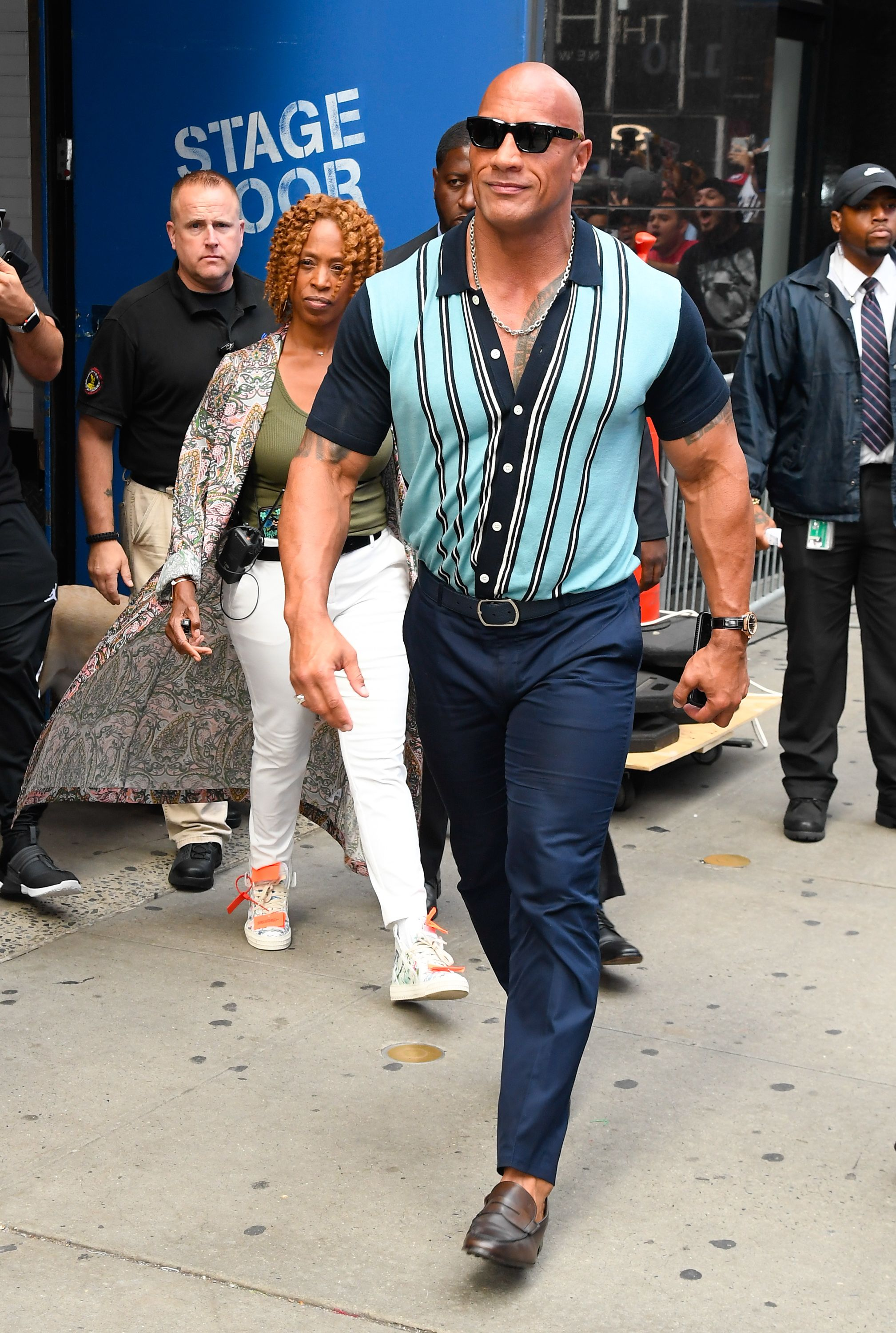 Let Dwayne 'The Rock' Johnson and Todd Snyder Show You Summer Style Done Right