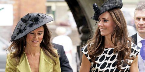 7f1c412e3a15 Pippa Middleton and Kate Middleton Dressing Alike - Pippa Middleton ...