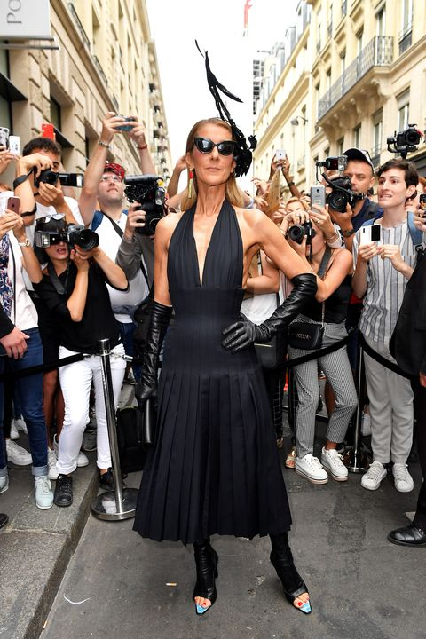 Schiaparelli : Outside Arrivals - Paris Fashion Week - Haute Couture Fall/Winter 2019/2020