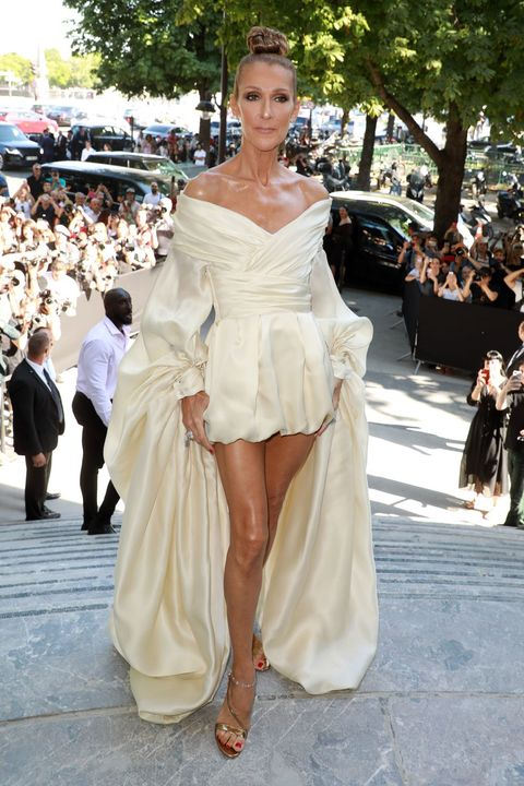Celine Dion couture style