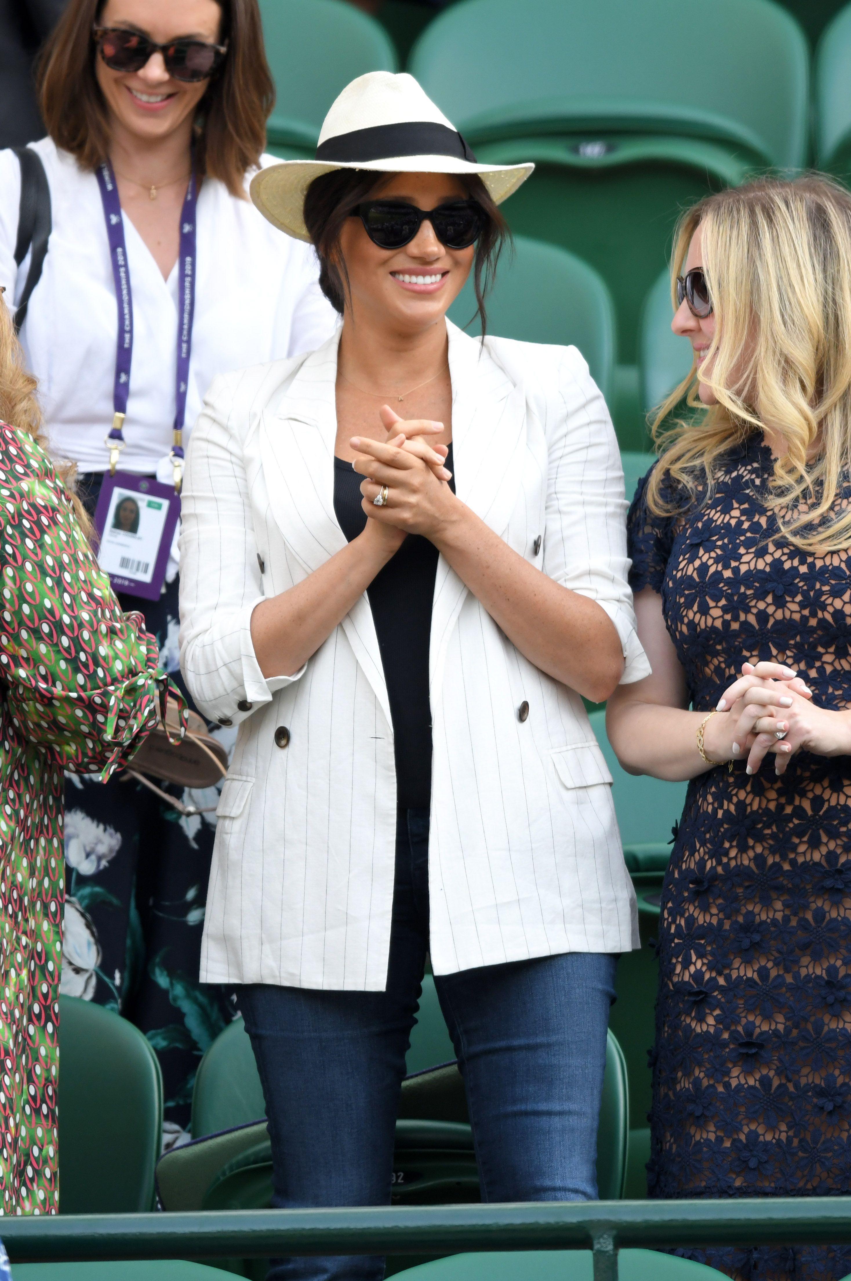 Meghan Markle's Chic Wimbledon Blazer is Currently on Sale For Over Half Off