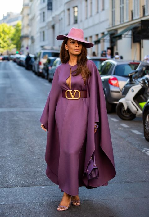 Clothing, Street fashion, Pink, Purple, Fashion, Snapshot, Outerwear, Dress, Costume, Magenta,