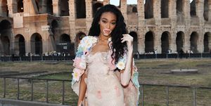winnie harlow fendi couture rome