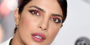 Priyanka Chopra Neon Pink Eyeshadow