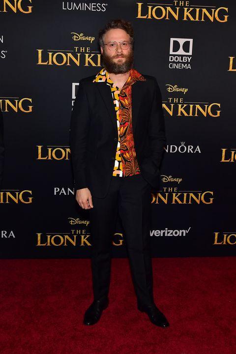Image result for lion king premiere Seth Rogen