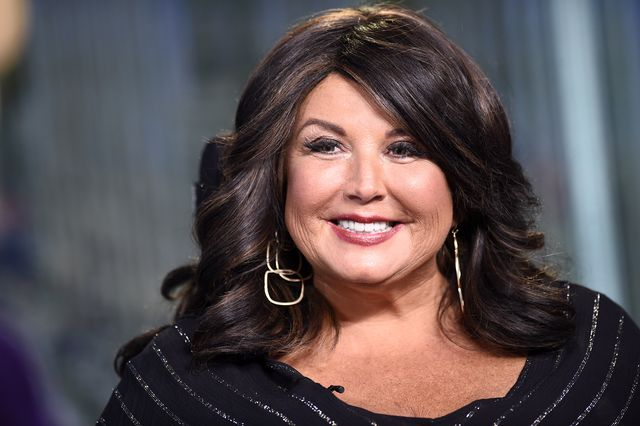 new york, new york   july 10 abby lee miller visits the set of the claman countdown at fox business network studios on july 10, 2019 in new york city photo by steven ferdmangetty images
