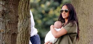 Meghan Markle at Polo Match