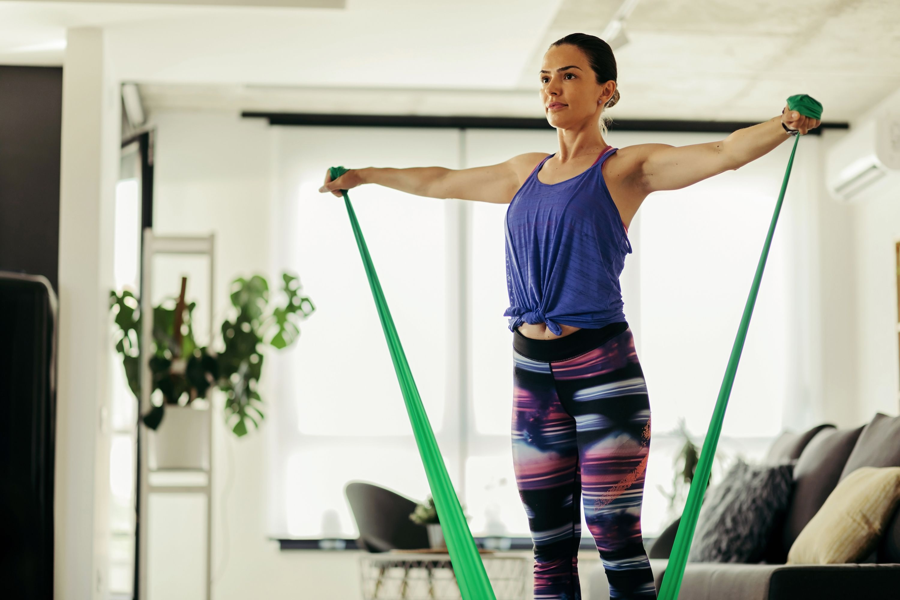 The Best Resistance Band Exercises to Take Your Home Workout from Humdrum to Hard