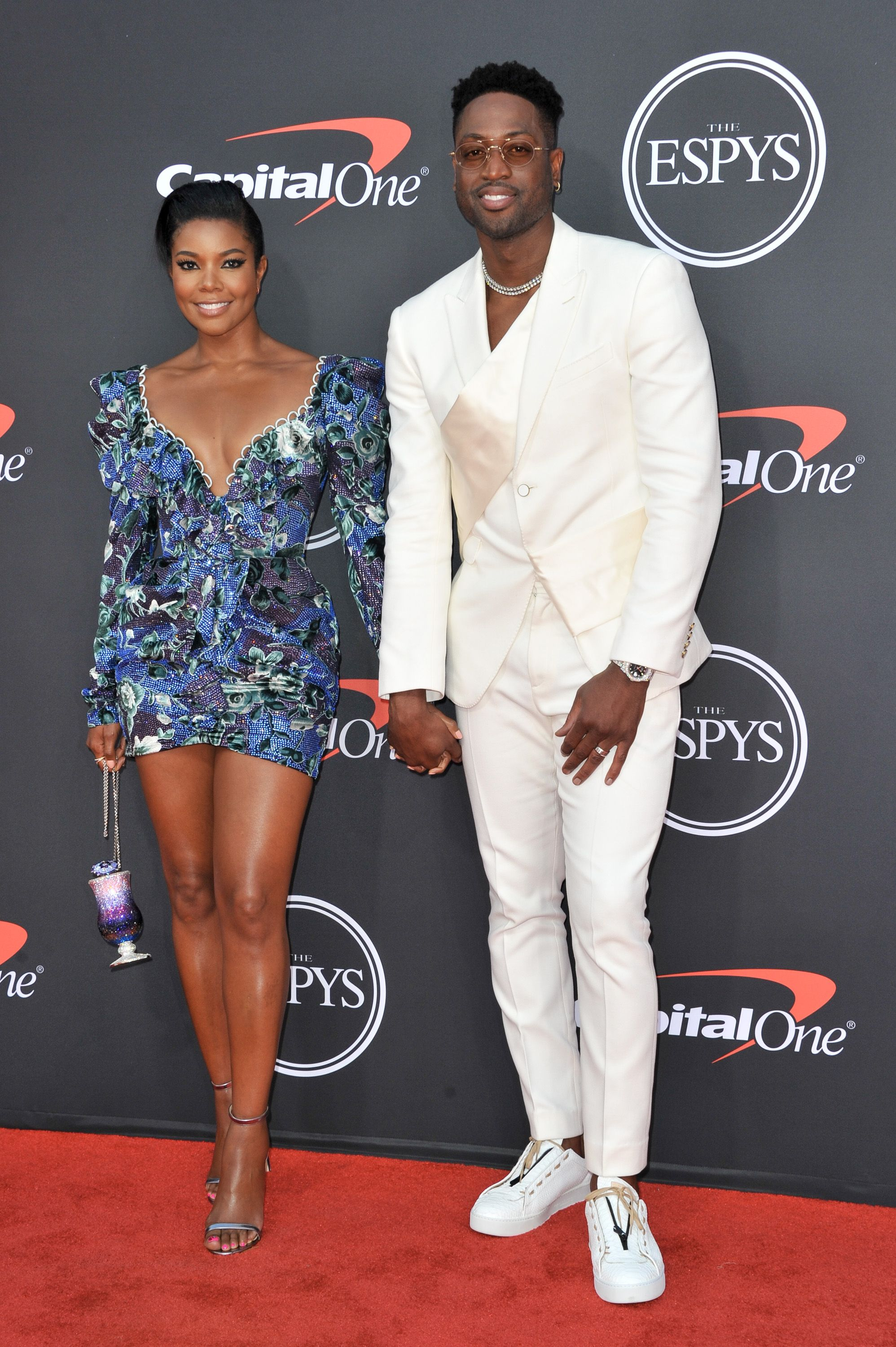 Dwyane Wade Told Gabrielle Union He Can't Wait to Marry Her Again at the ESPYs