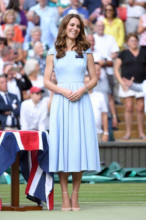 2019 溫布敦網球賽  名人穿搭Kate Middleton