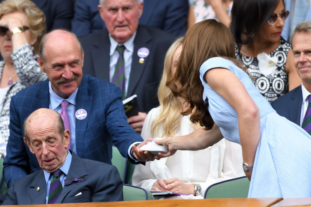 Kate Middleton Received a Gift for Prince Louis From Stan Smith at Wimbledon