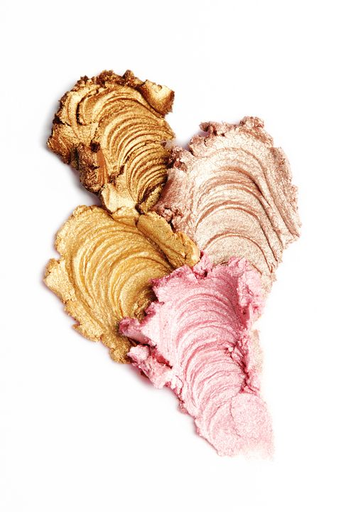 Four Multi Colored Eyeshadow Pastes