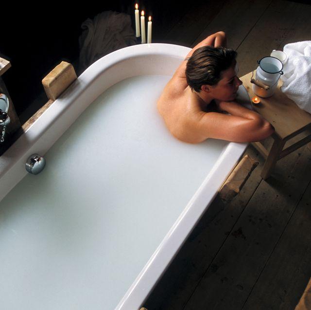 Milk-bath. Hotel Mirabell. Valdaora. Val Pusteria. Trentino Alto Adige. Italy