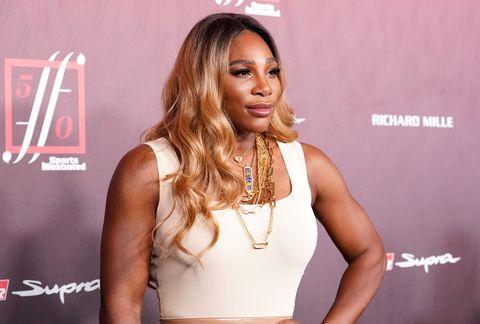 Serena Williams Sports Illustrated Fashionable 50