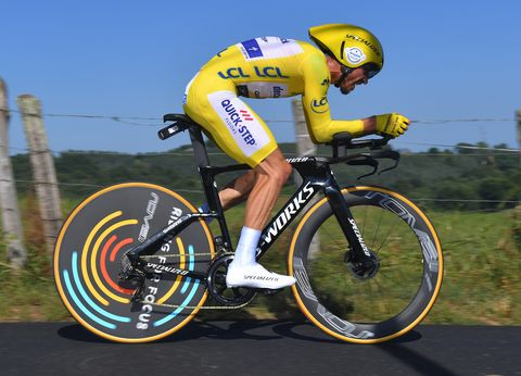 Julian Alaphilippe S Specialized S Works Shiv Tt Fastest Bikes Of The Tour De France