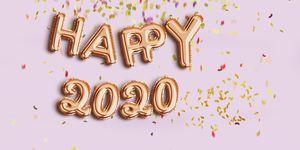 happy new year 2020 balloon