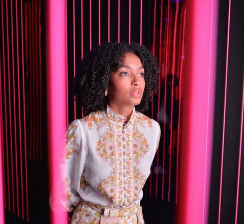Actress Yara Shahidi Visits Audible's 'Stan Lee's Alliances: A Trick of Light' Experience At San Diego Comic-Con