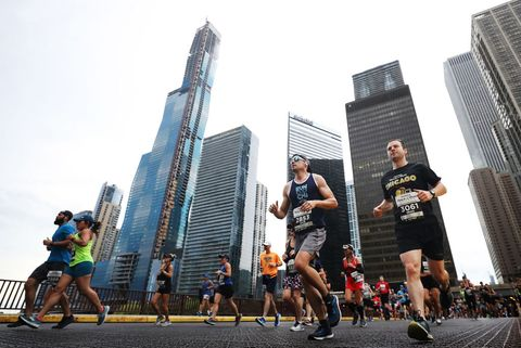 marathon chicago hardlopen